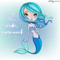 Zahnschmuck zum selber Kleben 20 Blingsmile® Elements Meermaidblue