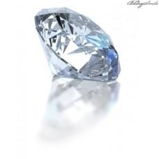 Diamant Moissanit künstlicher Diamant 2.1 mm