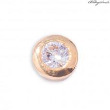 Twinkles Zahnschmuck Gold mit Diamant 0.01 CT