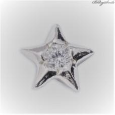 Twinkles Zahnschmuck Weissgold mit Diamant 0.02 CT