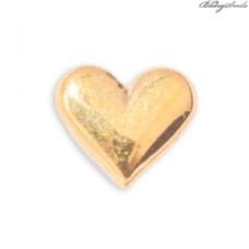 Twinkles Zahnschmuck Herz klein Gold