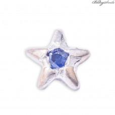 Twinkles Zahnschmuck Stern Weissgold Sapphire